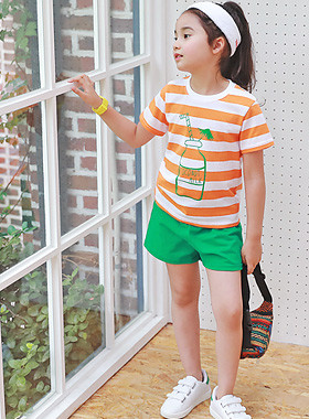 "<font color=#4bb999>* JKIDS 2017 S / S *</font> <br> Coconut Up and Down SET <br> <font color=""#9f9f9f"">♡ Big Orange, umbrella Dangara ♡ <br> Good working clothes!</font>"