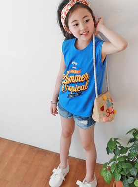 "<font color=#4bb999>* JKIDS 2017 S / S *</font> <br> Paradise sleeveless <br> <font color=""#9f9f9f"">* Summer sensibility plenty! * <br> * Attractive sparkling summer look *</font>"