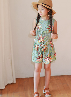 "<font color=#4bb999>* JKIDS 2017 S / S *</font> <br> Balinese flower set up and down SET <br> <font color=""#9f9f9f"">* Yes, it is good. <br> * BEAUTIFUL RESORT</font>"