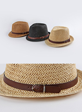 <font color=#4bb999>* JKIDS 2017 *</font> <br> Booted Leather Fedora