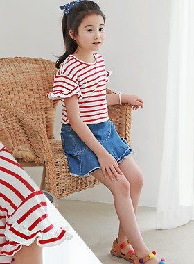 "<font color=#4bb999>* JKIDS 2017 S / S *</font> <br> Friction <br> <font color=""#9f9f9f"">* It's so pretty * <br> * Gully frilly polo shirt *</font>"