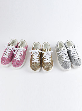 <font color=#edb200>* JKIDS 2017 *</font> <br> Glitter Overseal Sneakers
