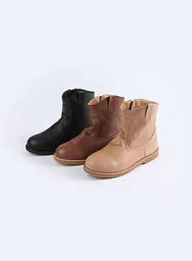 <font color=#edb200>* JKIDS 2017 *</font> <br> Ankle western boots <br> <font color=#8e5b69>★ real leather ★</font>
