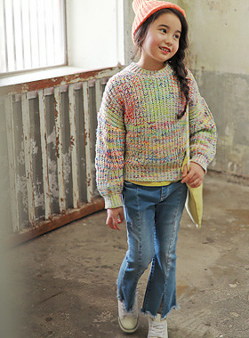 "<font color=#edb200>* JKIDS 2017 F ​​/ W *</font> <br> Neonix mix knit <br> <font color=""#9f9f9f"">♡ Allegro Mix Mix ♡ <br> Soft and warm!</font>"