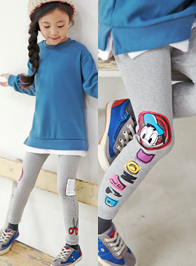 "<font color=#edb200>* JKIDS 2017 F ​​/ W *</font> <br> Subtle leggings <br> <font color=""#9f9f9f"">♡ Donald Duck Printing ♡ <br> Slim and fashionable line!</font>"