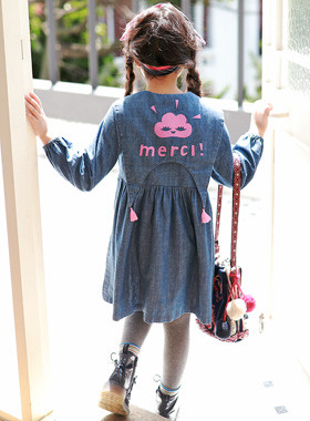 "<font color=#edb200>* JKIDS 2017 F ​​/ W *</font> <br> Mercedes Denim Dress <br> <font color=""#9f9f9f"">* Guy Fucking! Denim Dress * <br> * Tasteful snooping look *</font>"