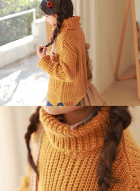 "* JKIDS 2017 F ​​/ W * <br> Lucky Turtle Knit <br> * Cute pocket detail * <font color=""#9f9f9f""><br></font> * Turtleneck with a warm *"