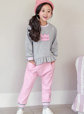"* JKIDS 2017 F ​​/ W * <br> Free TV Up and Down SET <br> ♡ romantic hem ruffle ♡ <font color=""#9f9f9f""><br></font> Sportsy Daily Look SET!"