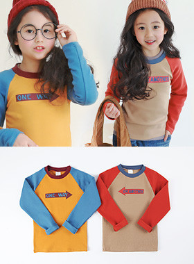 "* JKIDS 2017 F ​​/ W * <br> Picket league tee <br> * Couple with OK * <font color=""#9f9f9f""><br></font> * Sensuous twin look *"