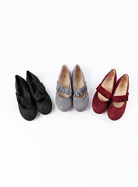 <font color=#edb200>* JKIDS 2017 *</font> <br> Own Frill Flat Shoes