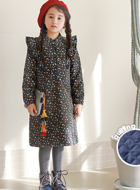 "<font color=#edb200>* JKIDS 2017 F ​​/ W *</font> <br> Carvelinu Beam Dress <br> <font color=""#9f9f9f"">* Pretty One Lovely Look * <br> * ♥ *</font>"