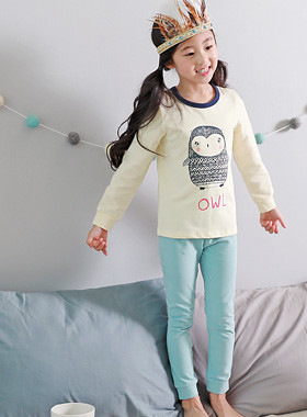 "<font color=#edb200>* JKIDS 2017 F ​​/ W *</font> <br> A dress gown <br> <font color=""#9f9f9f"">♡ Cute owl character ♡ <br> Comfortable fit</font>"