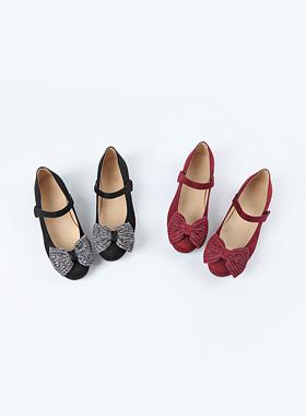 <font color=#edb200>* JKIDS 2017 *</font> <br> Marie-knit flat shoes