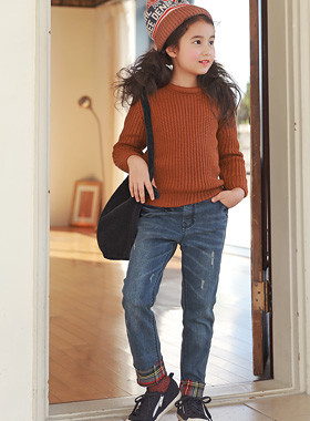 """<font color=#edb200>* JKIDS 2017 F / W *</font> <br> Florence denim pants <br> <font color=""""#9f9f9f"""">Check roll-up hem - key point! * <br> * Required collection each daily pants *</font>"""