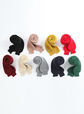 <font color=#edb200>* JKIDS 2017 *</font> <br> Hem knit scarf