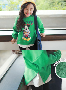"<font color=#edb200>* JKIDS 2017 F ​​/ W *</font> <br> Muddy Mickey brushed man-to-man <br> <font color=""#9f9f9f"">* Popular Mickey Mouse * <br> * Warm warm ~ napping lining *</font>"