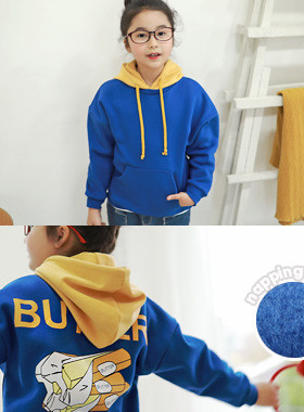 "<font color=#edb200>* JKIDS 2017 F ​​/ W *</font> <br> Butter hood brushed man-to-man <br> <font color=""#9f9f9f"">* ♡ LOVELY BUTTER ♡ * <br> * It is recommended to look for a male and female in common for men and women!</font>"