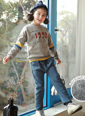 """<font color=#edb200>* JKIDS 2017 F / W *</font> <br> Old School Brushed Up and Down SET <br> <font color=""""#9f9f9f"""">♡ Daily look style ♡ <br> Warm brushed lining!</font>"""