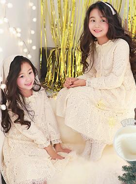"<font color=#edb200>* JKIDS 2017 F / W *</font> <br> René Laceper Dress <br> <font color=""#9f9f9f"">* Shaban Chicken Goddess Fall * <br> * lovely Romantic Dress *</font>"