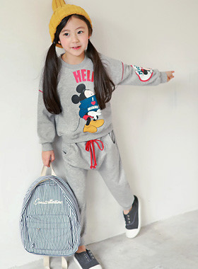 """Help Mickey up and down SET <br> <font color=""""#9f9f9f"""">♡ Free one pit ~ line ♡ <br> Pretty sweet Mickey printing!</font>"""