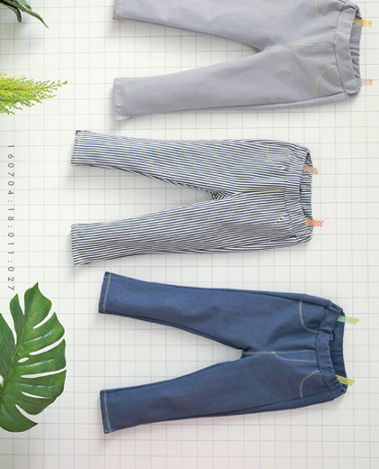 "Tapping Gang Pants <br> <font color=""#9f9f9f"">* Stiff tension, ComfortUP * <br> * All-round coordinated daily pants *</font>"