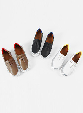 Jukle leather slip-on