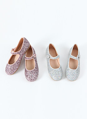 Pearl Shine Flat Shoes