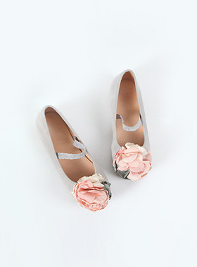 Spring Bending Flat Shoes