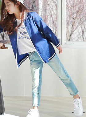 "Dharma Washing denim pants <br> <font color=""#9f9f9f"">* Delicate Washing! * <br> * Each life pants *</font>"