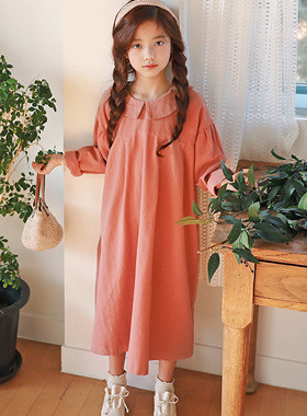 "Bairin Maxi Dress <br> <font color=""#9f9f9f"">♡ Girl Sensation 吹 ♡ <br> * Recommended for plump children! *</font>"