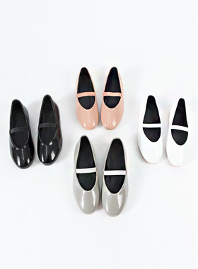 Light or banding flat shoes