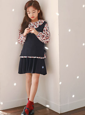 """Mule Knitting Skirt Up and Down SET <br> <font color=""""#9f9f9f"""">♡ Lovely flared skirt ♡ <br> Soft knit material!</font>"""