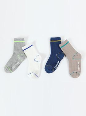 Neon Stitch Grizzly Socks