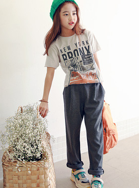 "Dipple Pinch Pants <br> <font color=""#9f9f9f"">* From daily to classic look * <br> * All-around coordination modern pants *</font>"
