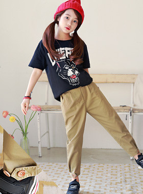 """MAGNIN pin tuck pants <br> <font color=""""#9f9f9f"""">* Cleaner and more beautiful * <br> * Our kids daily pants *</font>"""