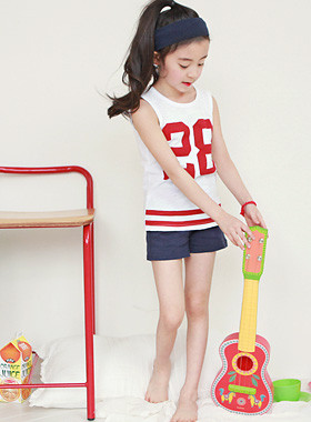 """28 Sleeveless dressing gown <br> <font color=""""#9f9f9f"""">♡ ♡ <br> Cool even in summer!</font>"""