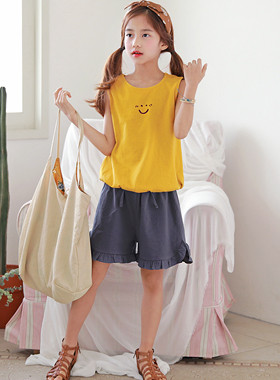 "Sally Sleeves Up and Down SET <br> <font color=""#9f9f9f"">♡ Angiosis Smile ♡ <br> * End of casual! No worries about coordination! *</font>"