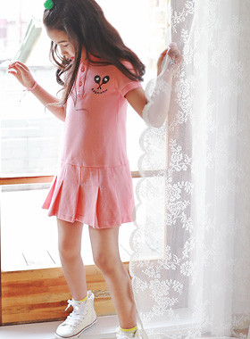 "Love Pong PKOne Piece <br> <font color=""#9f9f9f"">* This summer, <br> * Pretty instinct Pink One Piece * <br> Please order one size larger</font>"