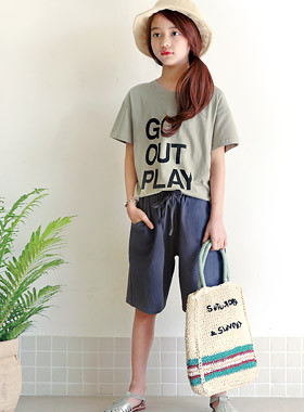 "High Out SET <br> <font color=""#9f9f9f"">* Tidy simple daily SET * <br> Easy-to-wear, easy-to-wear</font>"