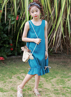 "Balloon Coco Dress <br> <font color=""#9f9f9f"">* ♡ Attractive color ♡ * <br> * A pleasant summer dress! *</font>"