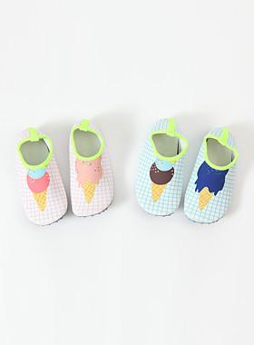 Soft aqua shoes