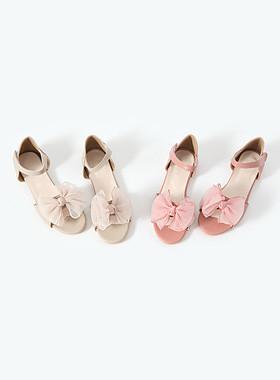 Sandal ribbon sandals
