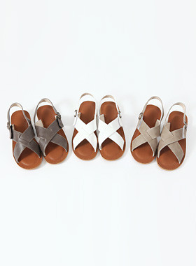 Carly Cross Sandals