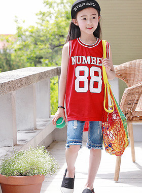 "Mesh number sleeveless top <br> <font color=""#9f9f9f"">* Eye-catching sleeveless top * <br> multi street fashion look</font>"