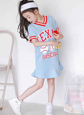 "Texas Mini Dress <br> <font color=""#9f9f9f"">* ♡ Directing the bright atmosphere ♡ * <br> * Attractive sporty look! *</font>"