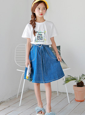"Karachiko skirt up and down SET <br> <font color=""#9f9f9f"">* Perfect coordination up and down SET * <br> Daily + Home</font>"