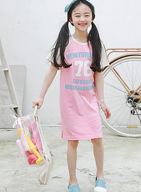 "Walking, One Piece <br> <font color=""#9f9f9f"">* Mongsil Mongsil pastel color * <br> lovely Summer Daily</font>"