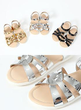 Salt Pretzel Sandals