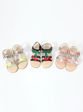 "Cherry strap sandals <br> <font color=""#a84c59"">* Delayed arrival * <br> 27 days Estimate storage <br></font>"