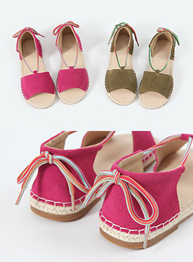 Anne Leather Saddudy Sandals